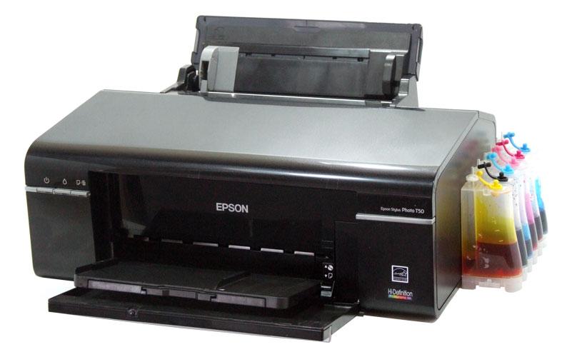 Драйвер для Epson Stylus Photo T50 + инструкция как ...